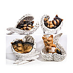 Figurines - Paw Prints From Heaven Yorkie Figurine Collection
