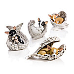 Figurines - Paw Prints From Heaven Chihuahua Figurine Collection