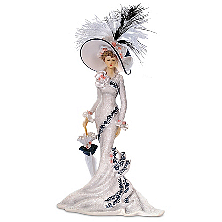 Victorian Promenade Lady Figurine Collection