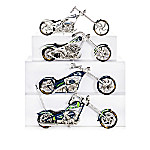 Seattle Seahawks Sculptural Motorcycle Figurine Collection