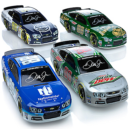 88 Dale Earnhardt, Jr. Ready To Roll Chevy SS Sculpture Collection