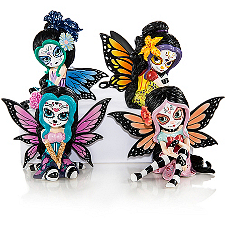 Jasmine Becket-Griffith Sweet Inspiration Sugar Skull Figurine Collection
