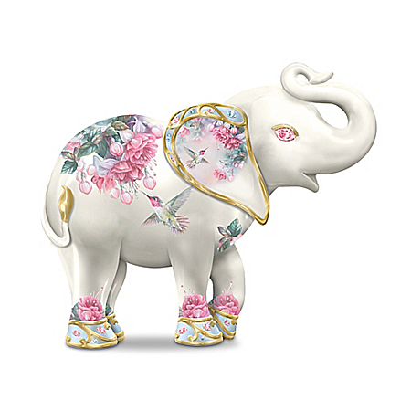 Lena Liu An Elephant's Garden Figurine Collection