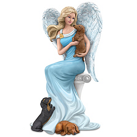 ASPCA's Paw-fect Angelic Blessings Angel And Dog Figurine Collection