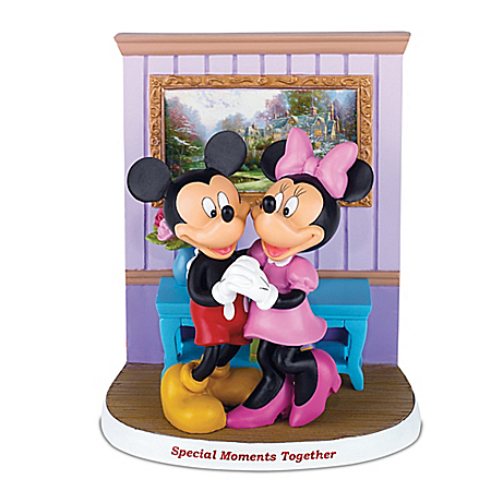 Disney Magical Moments At Home With Thomas Kinkade Figurine Collection