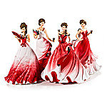 COCA-COLA Belles Of The Ball Hand-Painted COCA-COLA Figurine Collection