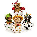 Kayomi Harai Cups Of Affection Ladybug Dachshund Figurine Collection