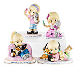 Precious Moments World's Greatest Cat Mom Figurine Collection