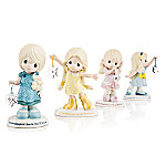 Precious Moments Symbols Of Love For My Granddaughter Figurine Collection
