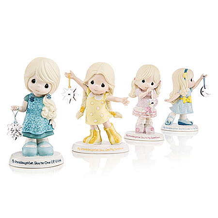 Precious Moments Granddaughter Figurine Collection: Hamilton Collection