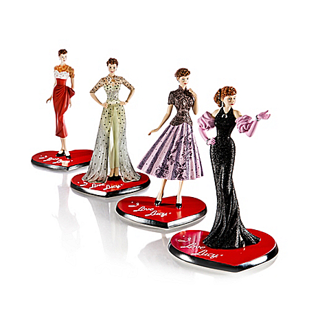 I LOVE LUCY 65th Anniversary: An Episode Of Fashion Handcrafted Figurine Collection