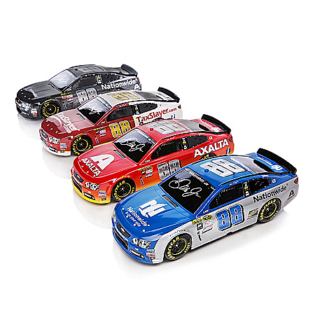 Dale Jr. Race To The Finish Chevrolet SS Sculpture Collection