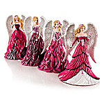 Nene Thomas On Wings Of Hope Breast Cancer Awareness Figurine Collection