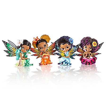 Jasmine Becket-Griffith Butterfly Virtues Fairy Figurine Collection