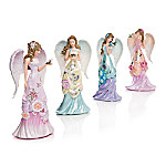 Lena Liu Angelic Beauties Of The Garden Handcrafted Figurine Collection