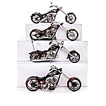 SONS OF ANARCHY - Riding With The Reaper Motorcycle Sculpture Collection
