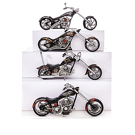 SONS OF ANARCHY: Riding With The Reaper Motorcycle Sculpture Collection