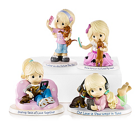 Precious Moments World's Best Dog Mom Figurine Collection