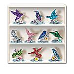 Lena Liu Reflections Of The Hummingbird Crystalline Figurine Collection