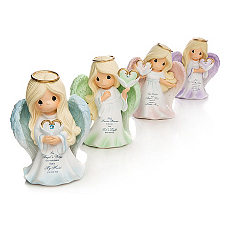 Precious Moments Remembrance Angel Figurine Collection: Hamilton Collection