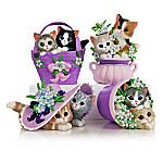 Kayomi Harai Love Never Fur-gets Alzheimer's Awareness Kitten Figurine Collection