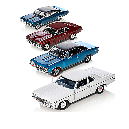 50 Years Of Chevy Power 1:18 Scale 427 Engine Diecast Car Collection