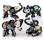 Blake Jensen Soulful Spirits Sugar Skull Elephant Figurine Collection
