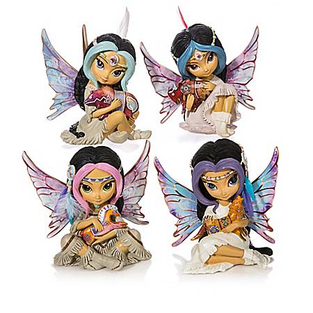 Jasmine Becket Griffith Maiden Fairy Figurine Collection with Laurie Prindle Art