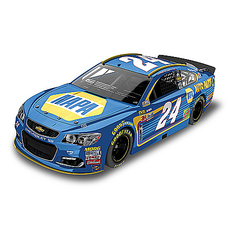 Chase Elliott NASCAR No. 24 NAPA 2017 Lionel Racing 1:24 Scale Diecast Car Collection
