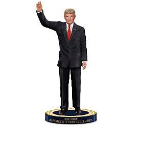 Donald J. Trump Presidential Tribute Figurine Collection