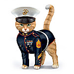 Paws & Salute The U.S.M.C. Cat Figurine Collection
