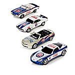 Heartbeat Of The Chicago Cubs 1 - 43-Scale MLB Car Sculpture Collection