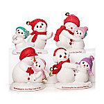 Precious Moments Granddaughters Are Snow Much Fun Figurine Collection