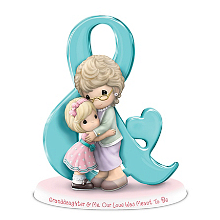 Precious Moments Symbols Of A Grandmother's Love Figurine Collection