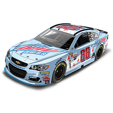 Dale Earnhardt Jr. No. 88 2017 NASCAR Mountain Dew Paint Scheme 1:24 Scale Diecast Car Collection