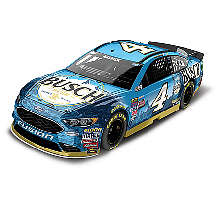 Kevin Harvick No. 4 2017 NASCAR 1:24 Scale Diecast Car Collection