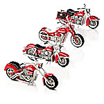 Refreshing Rides COCA-COLA Handcrafted Motorcycle Sculpture Collection