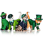 Blake Jensen Purr-fect Lucky Charm Hand-Painted Cat Figurine Collection
