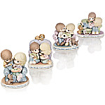 Precious Moments Our Love Feeds The Soul Bisque Porcelain Figurine Collection