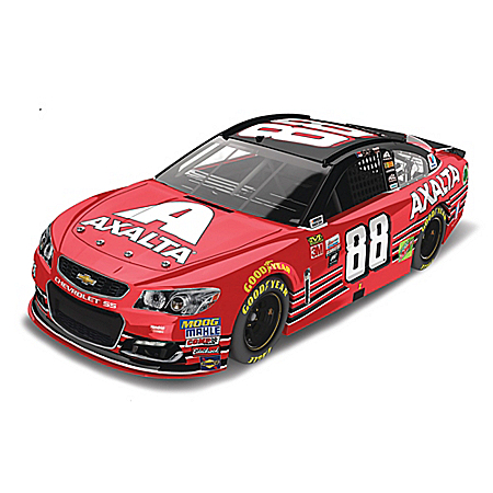 Dale Earnhardt Jr. 2017 NASCAR #88 Axalta 1:24-Scale Diecast Car Collection