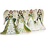 Thomas Kinkade Eternal Love Irish-Inspired Angel Figurine Collection