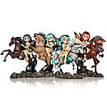 Jasmine Becket-Griffith Spirit Riders Fairy Figurine Collection