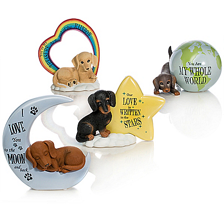Blake Jensen Dachshund Figurine Collection: Our Love Is Out of This World