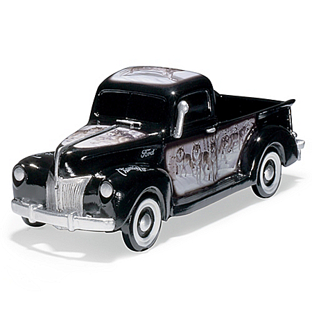 Al Agnew Spirit Of The Wild 1:36-Scale Truck Sculpture Collection