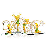 Disney Tinker Bell - Follow The Sparkle Handcrafted Figurine Collection