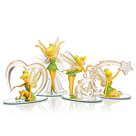 Disney Tinker Bell: Follow The Sparkle Handcrafted Figurine Collection