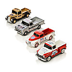 Budweiser Refreshing Rides 1 - 43-Scale Pickup Truck Sculpture Collection