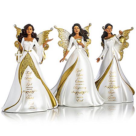 Keith Mallett My Strength, My Hope Angel Figurine Collection