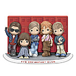 Precious Moments The Breakfast Club Hand-Painted Figurine Collection