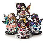 Jasmine Becket-Griffith Presents Tea With The Spirits Sugar Skull-Inspired Figurine Collection